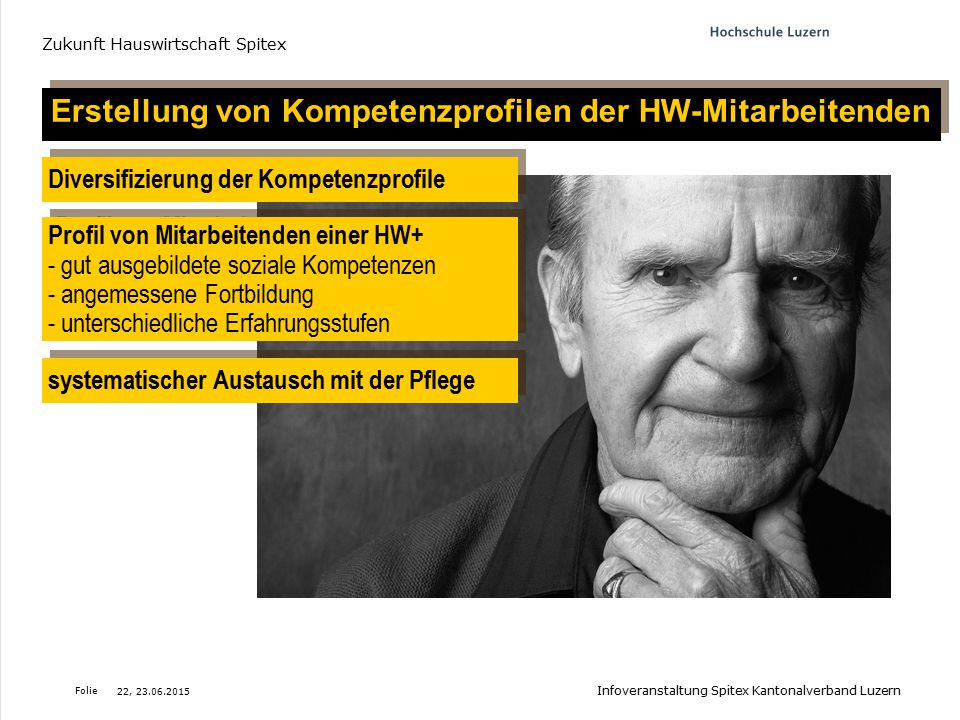 Erstellung von Kompetenzprofilen der HW-Mitarbeitenden