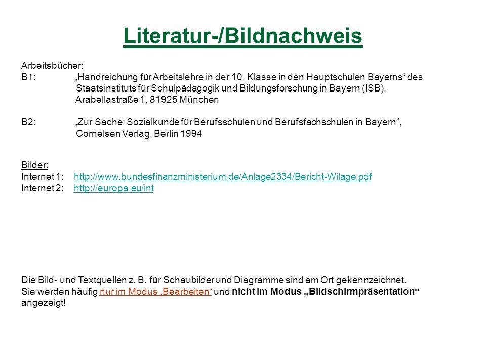 Literatur-/Bildnachweis