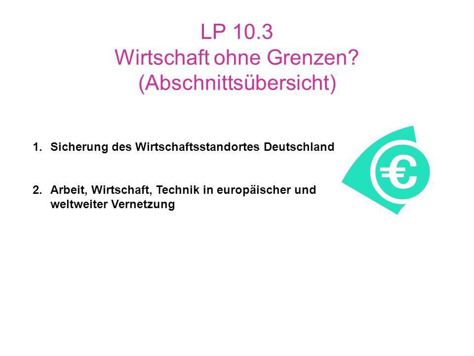 LP 10.3 Wirtschaft ohne Grenzen (Abschnittsübersicht)