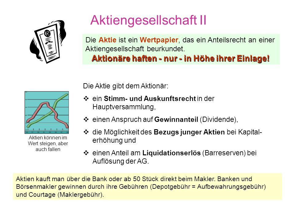 Aktiengesellschaft II