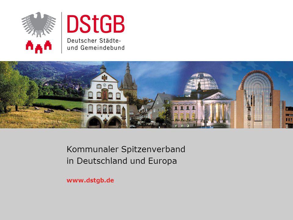 Kommunaler Spitzenverband in Deutschland und Europa