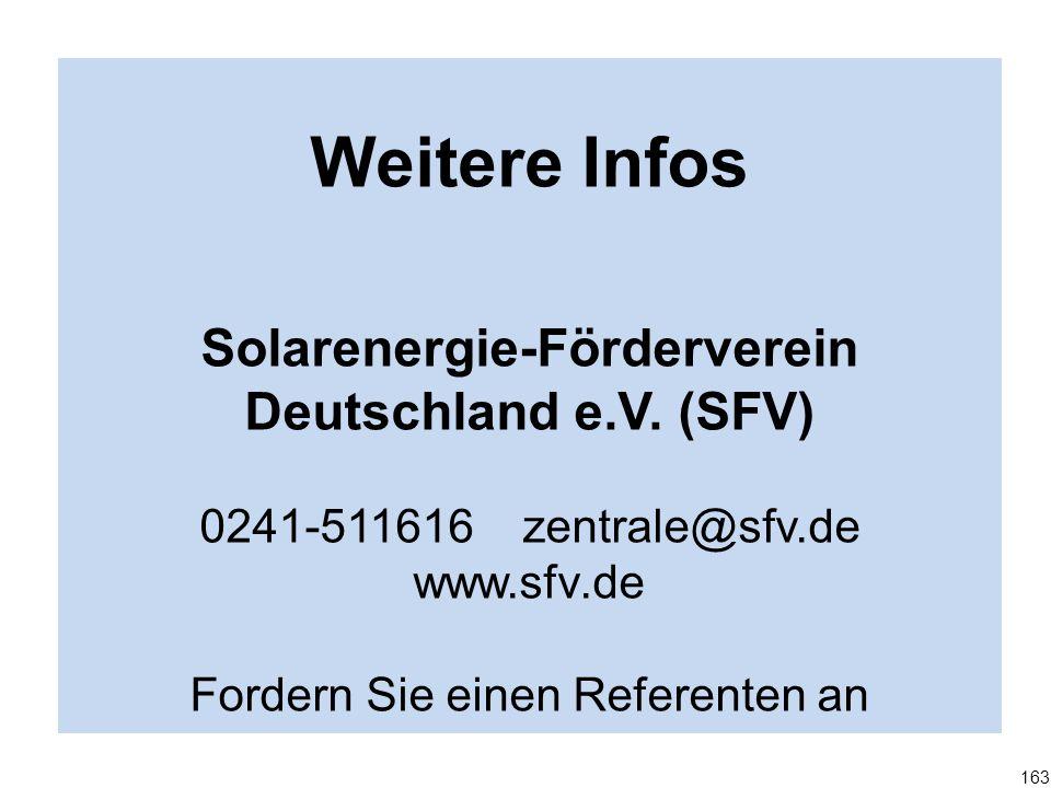 Solarenergie-Förderverein Deutschland e.V. (SFV)