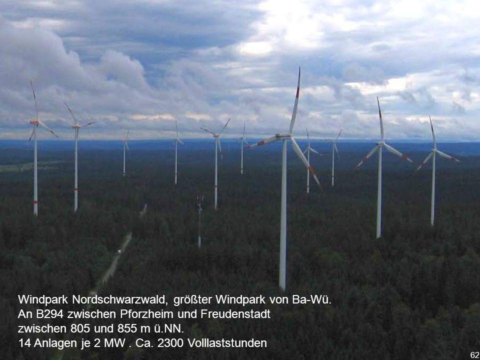 Windpark Nordschwarzwald