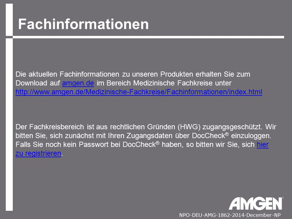 Fachinformationen