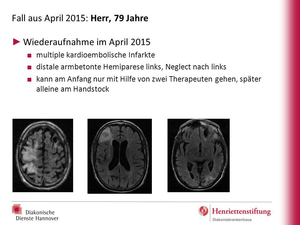 Fall aus April 2015: Herr, 79 Jahre