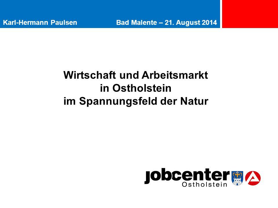 Wirtschaft und Arbeitsmarkt im Spannungsfeld der Natur