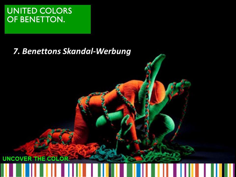 7. Benettons Skandal-Werbung