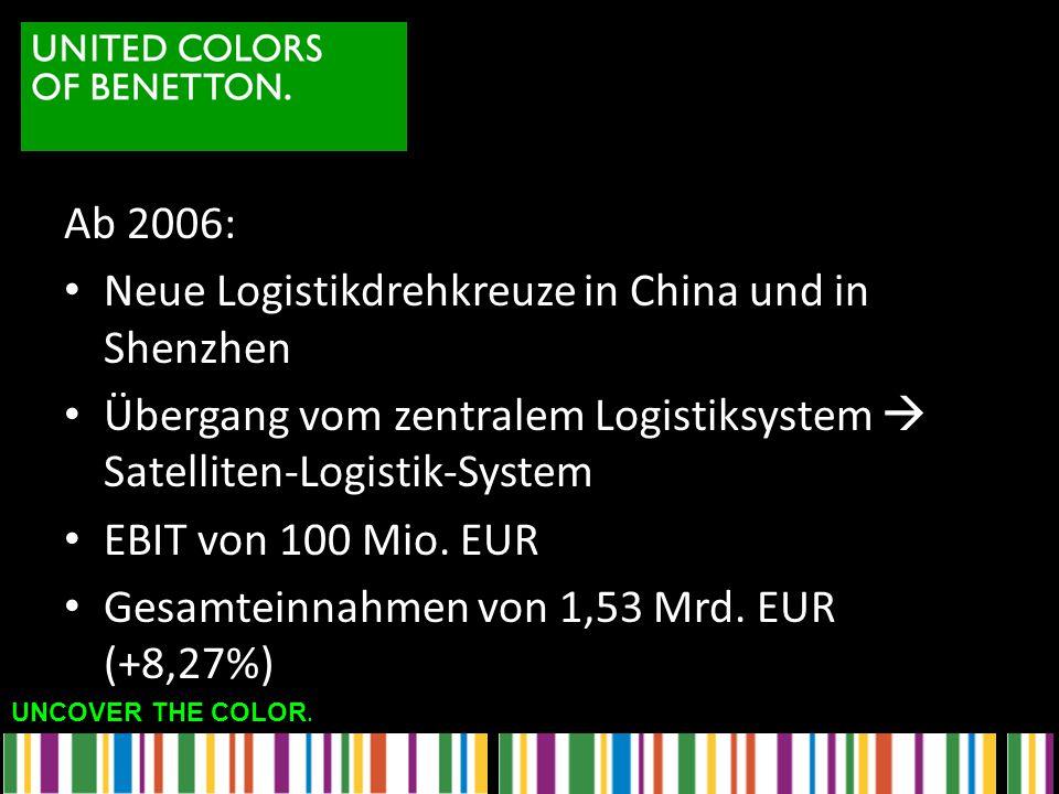 Neue Logistikdrehkreuze in China und in Shenzhen