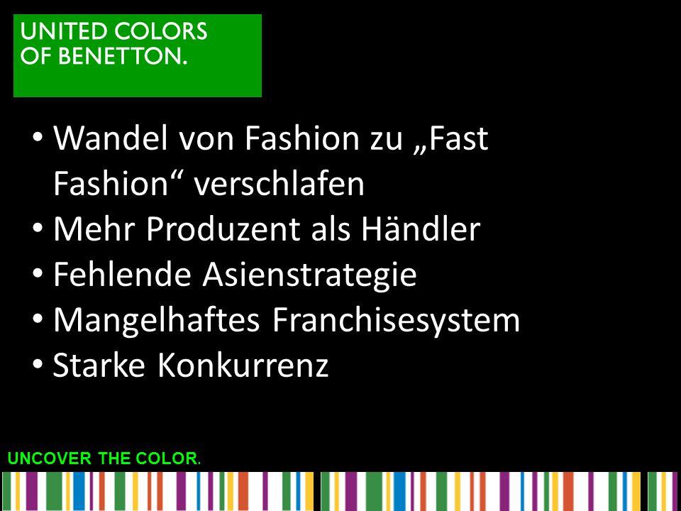 """Wandel von Fashion zu """"Fast Fashion verschlafen"""