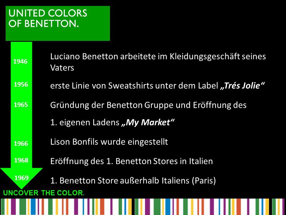 Luciano Benetton arbeitete im Kleidungsgeschäft seines Vaters