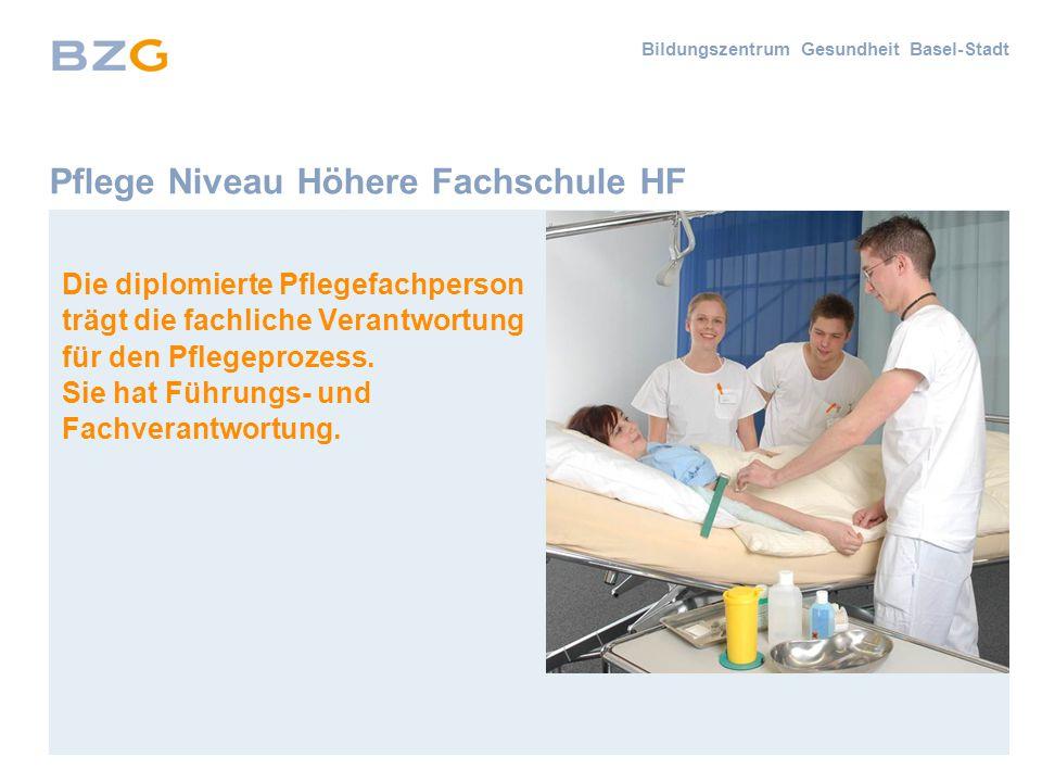 Pflege Niveau Höhere Fachschule HF