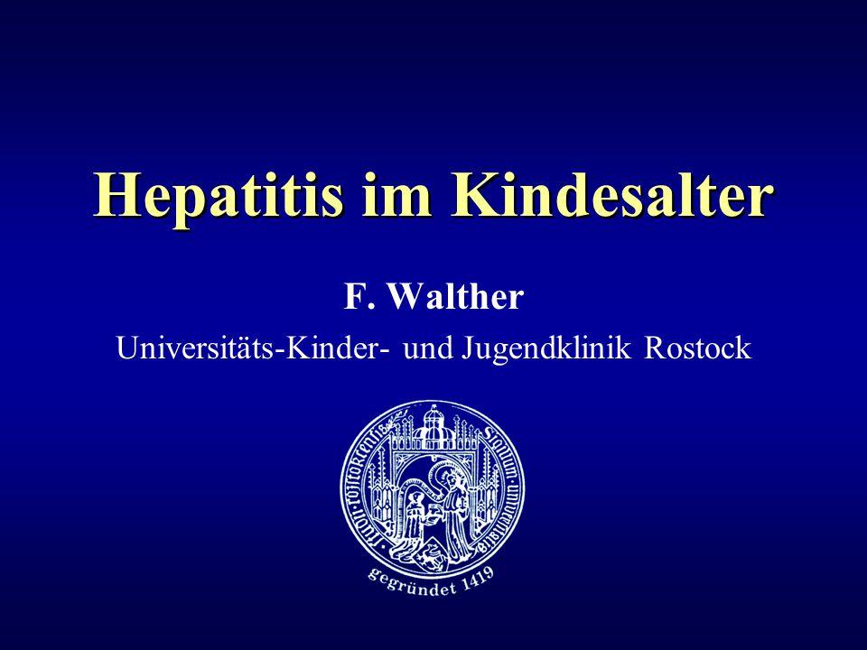 Hepatitis im Kindesalter