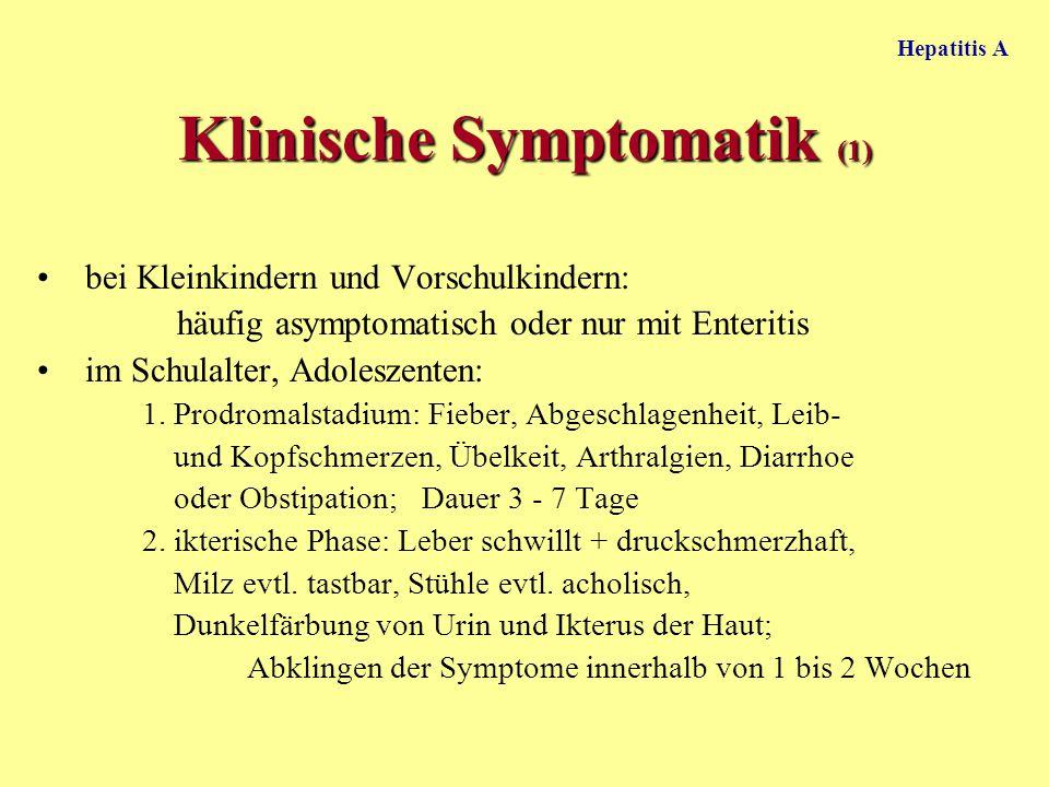 Klinische Symptomatik (1)