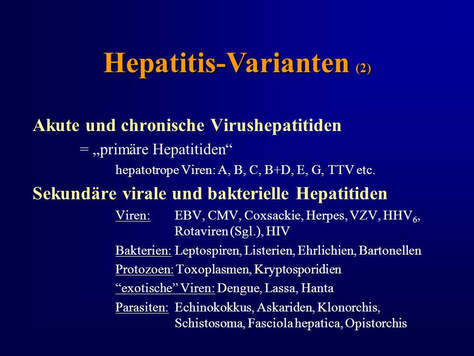 Hepatitis-Varianten (2)