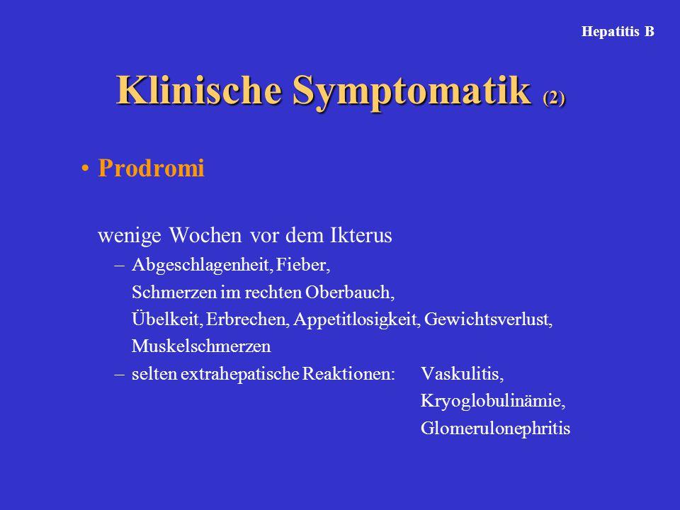 Klinische Symptomatik (2)