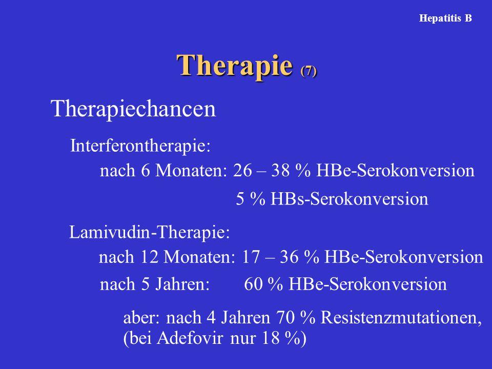 Therapie (7) Therapiechancen Interferontherapie: