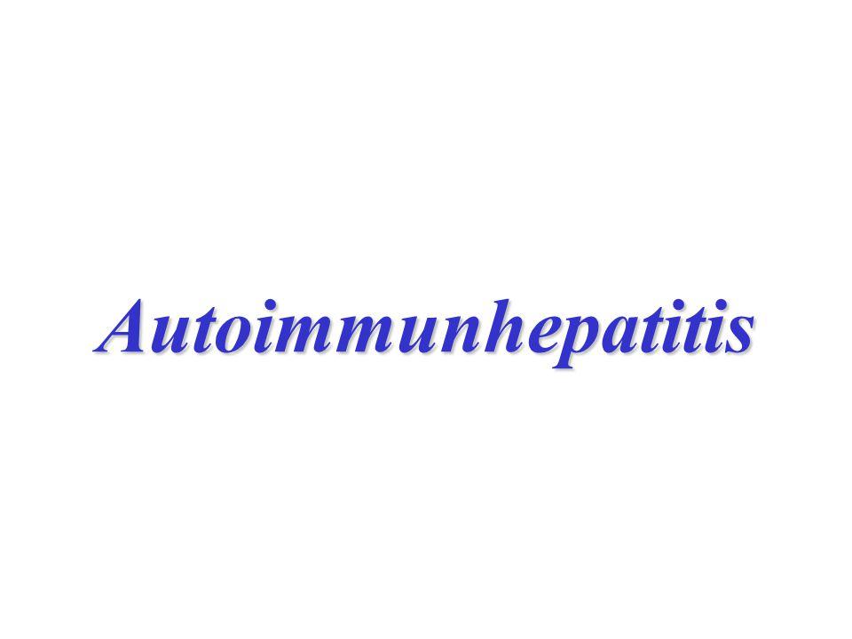 Autoimmunhepatitis