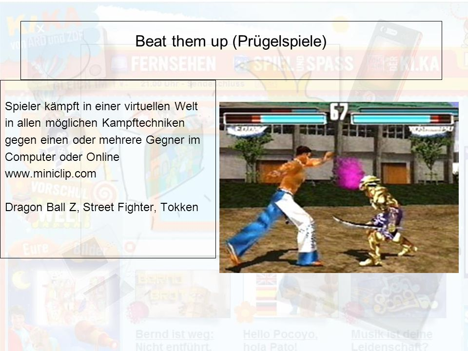 Beat them up (Prügelspiele)