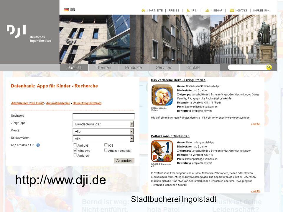 http://www.dji.de Stadtbücherei Ingolstadt