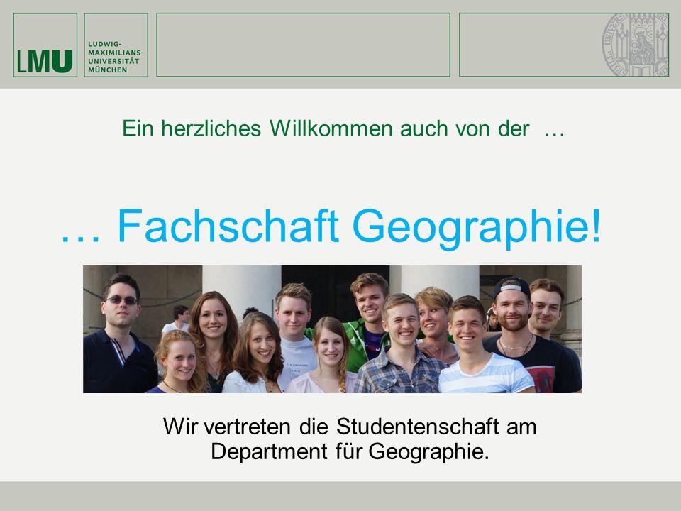 … Fachschaft Geographie!