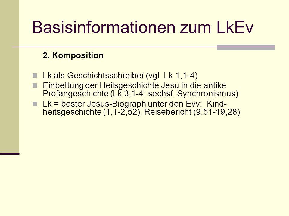 Basisinformationen zum LkEv