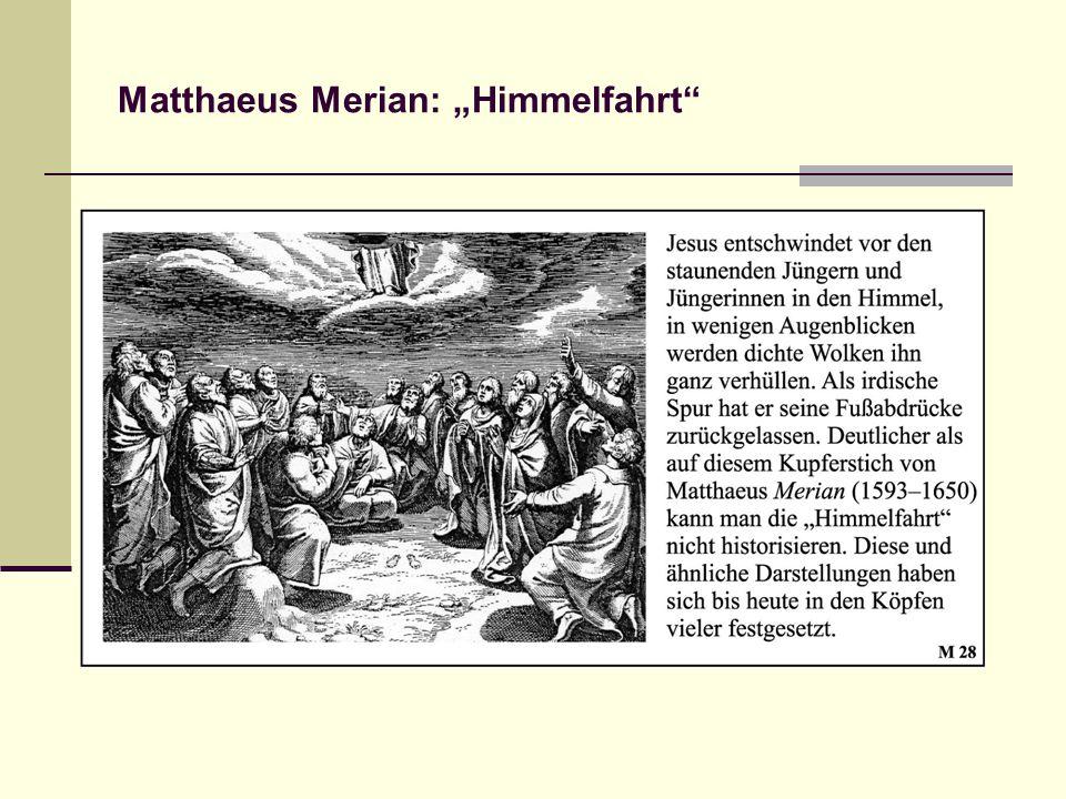 """Matthaeus Merian: """"Himmelfahrt"""