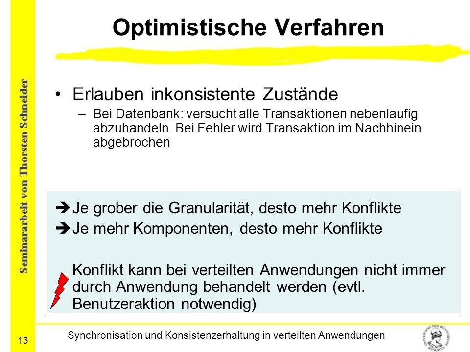 Optimistische Verfahren