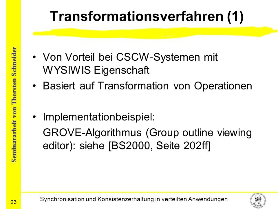 Transformationsverfahren (1)