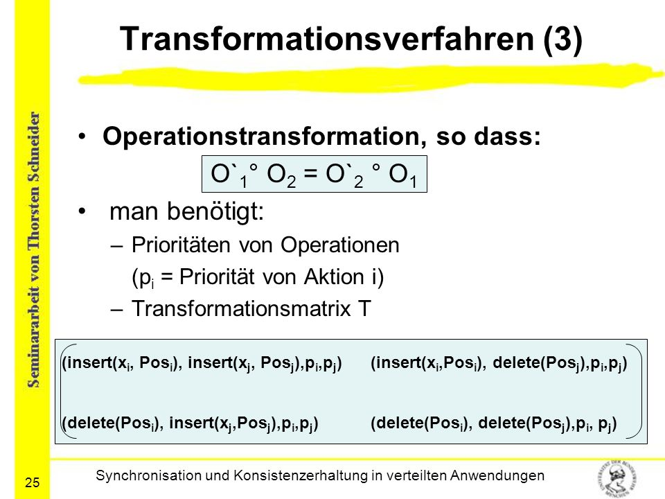 Transformationsverfahren (3)