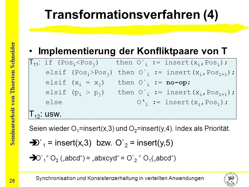 Transformationsverfahren (4)