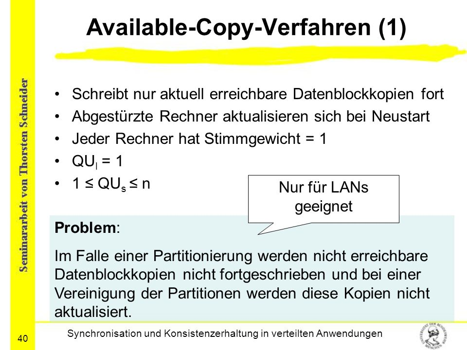 Available-Copy-Verfahren (1)