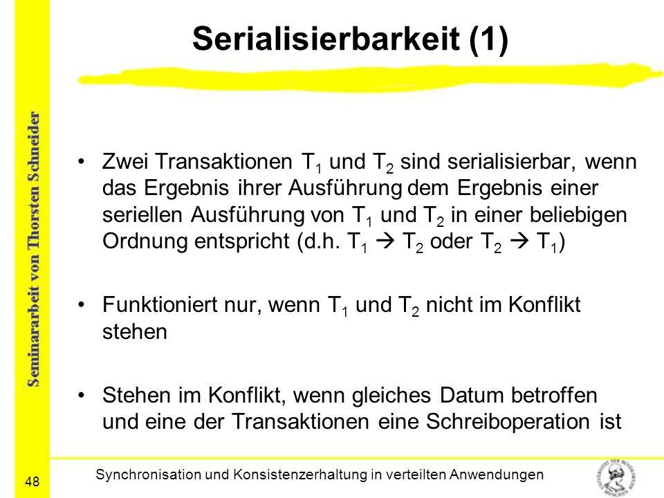 Serialisierbarkeit (1)