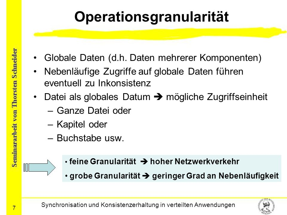 Operationsgranularität