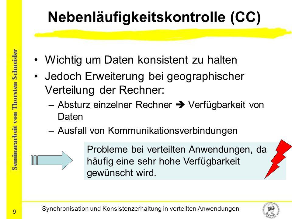 Nebenläufigkeitskontrolle (CC)