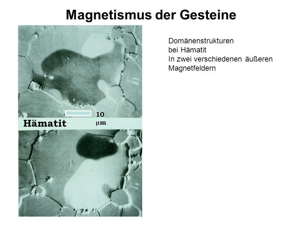 Magnetismus der Gesteine