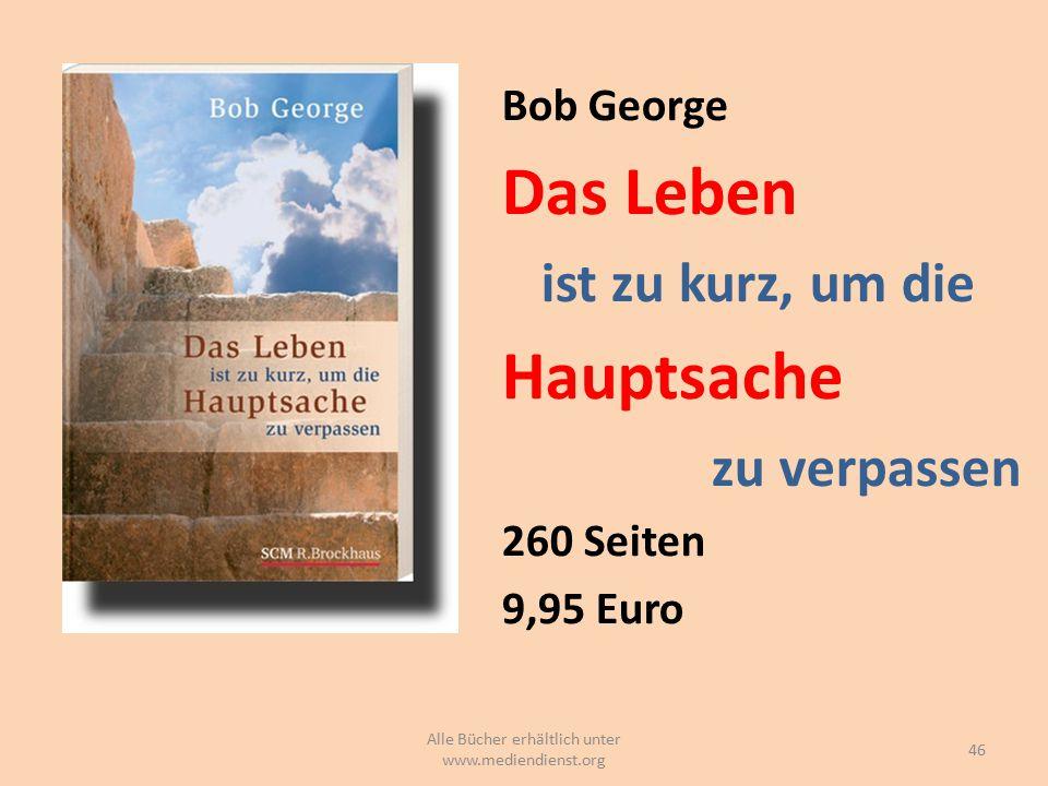 Alle Bücher erhältlich unter www.mediendienst.org