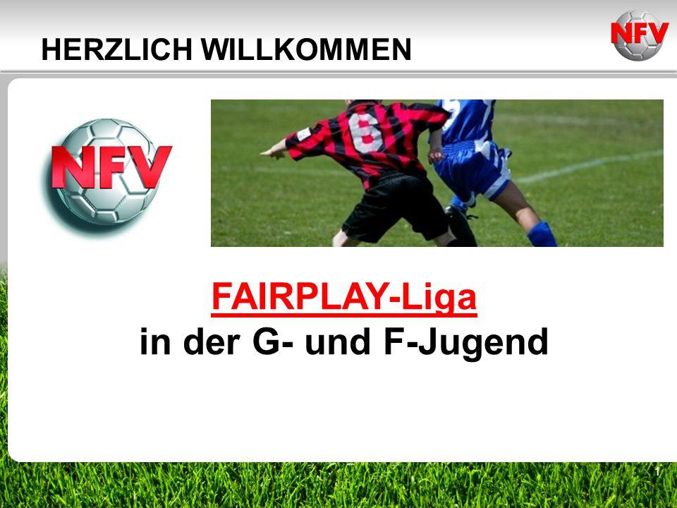 FAIRPLAY-Liga in der G- und F-Jugend