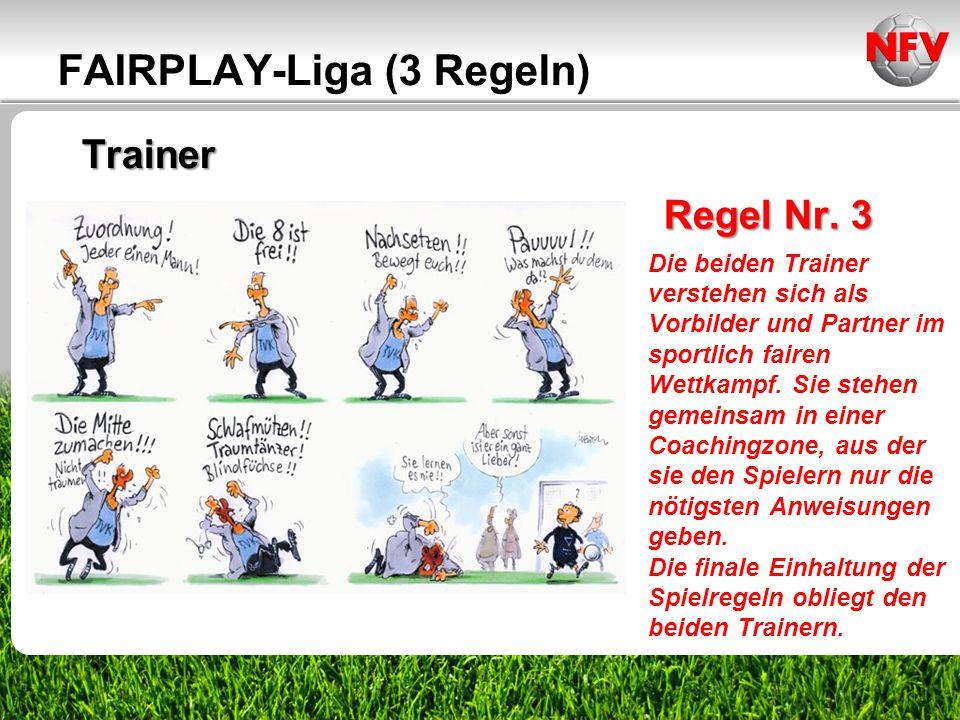 FAIRPLAY-Liga (3 Regeln)