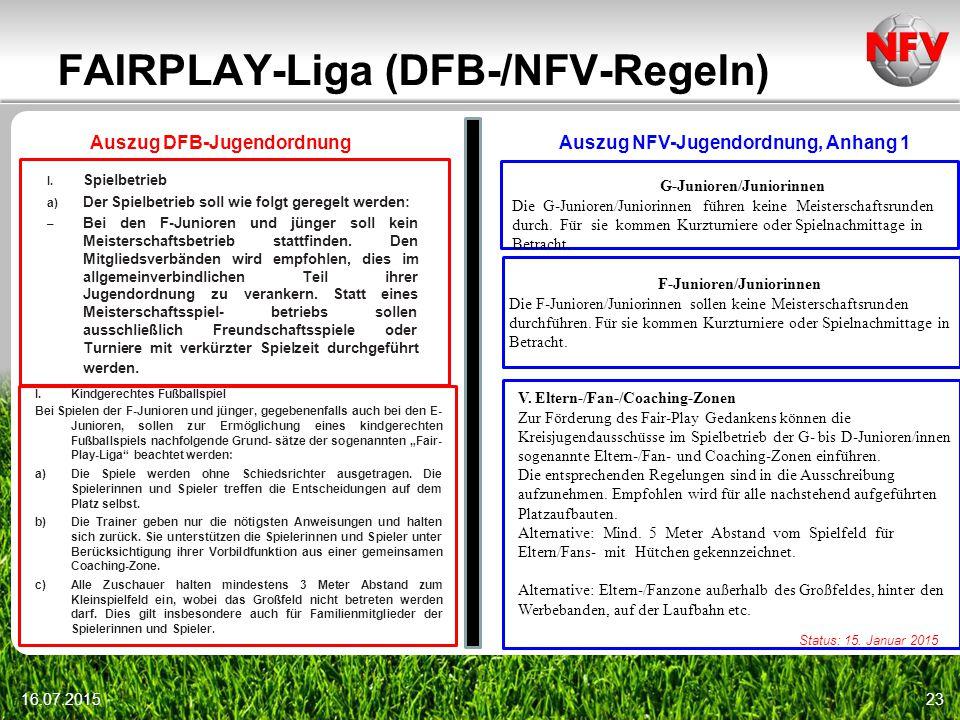 FAIRPLAY-Liga (DFB-/NFV-Regeln)