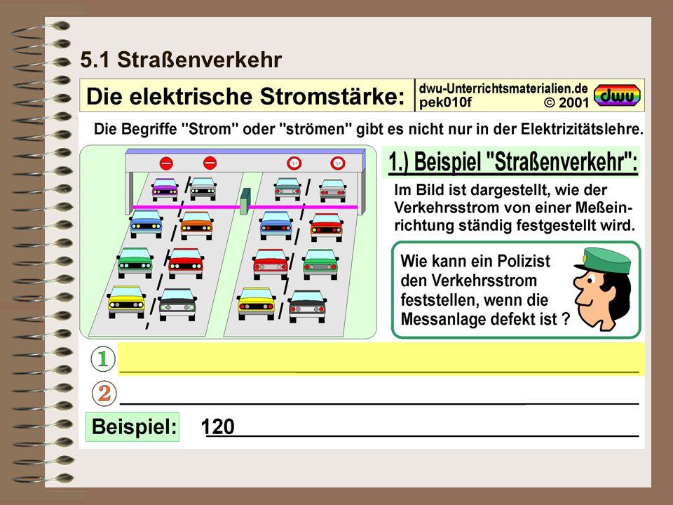 5.1 Straßenverkehr