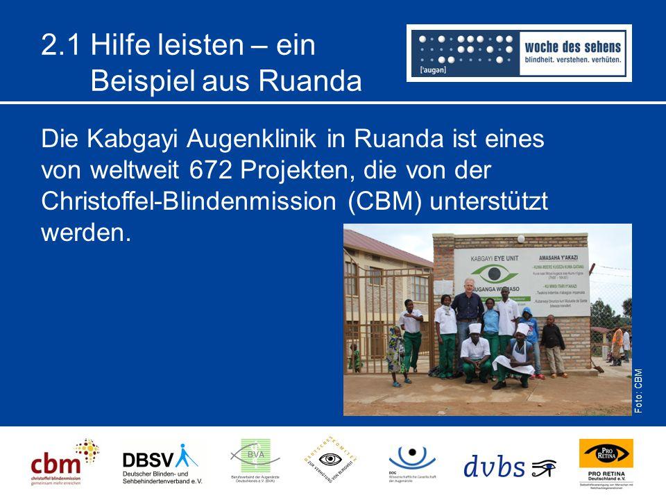 2.1 Hilfe leisten – ein Beispiel aus Ruanda