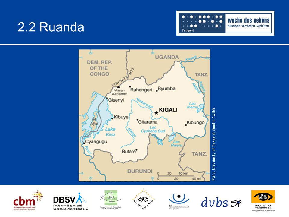 2.2 Ruanda Foto: University of Texas at Austin / USA.