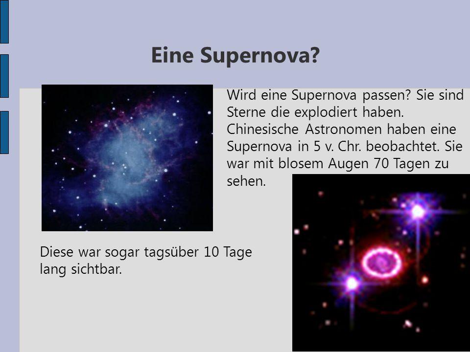 Eine Supernova