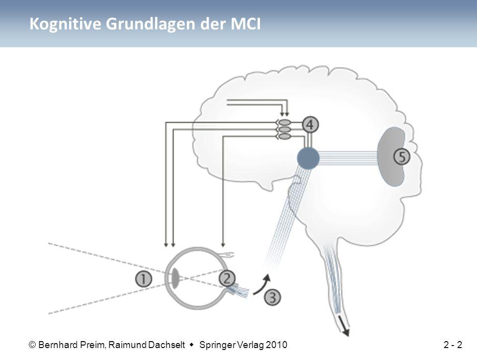 Kognitive Grundlagen der MCI