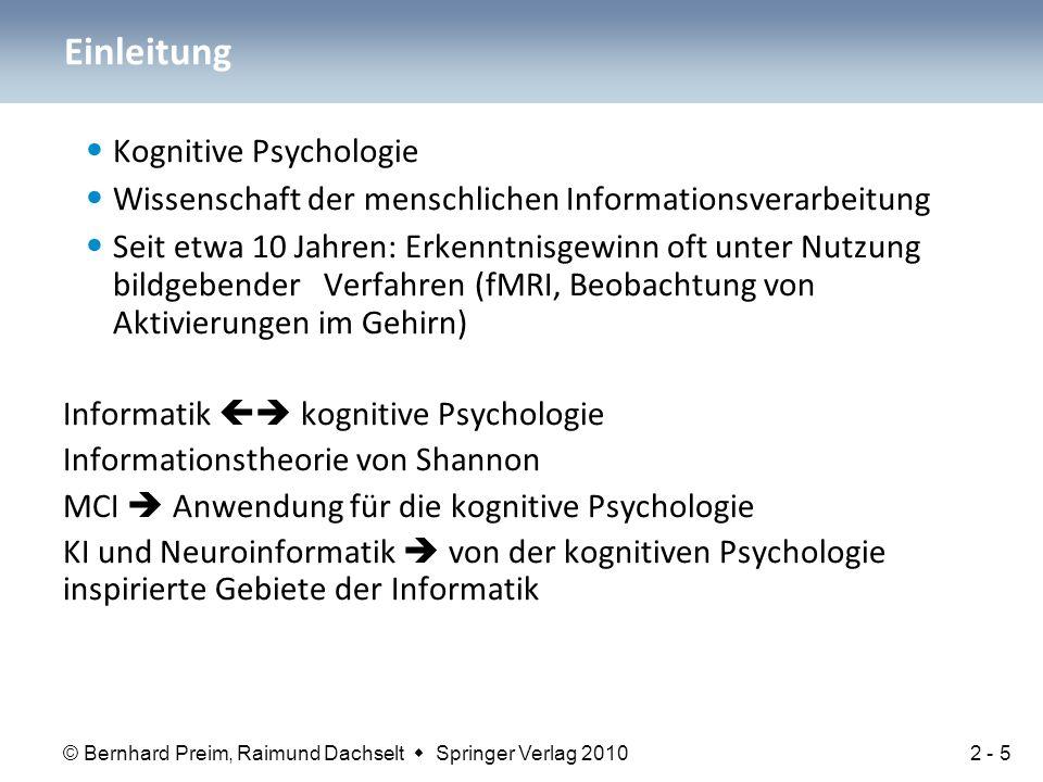 Einleitung Kognitive Psychologie
