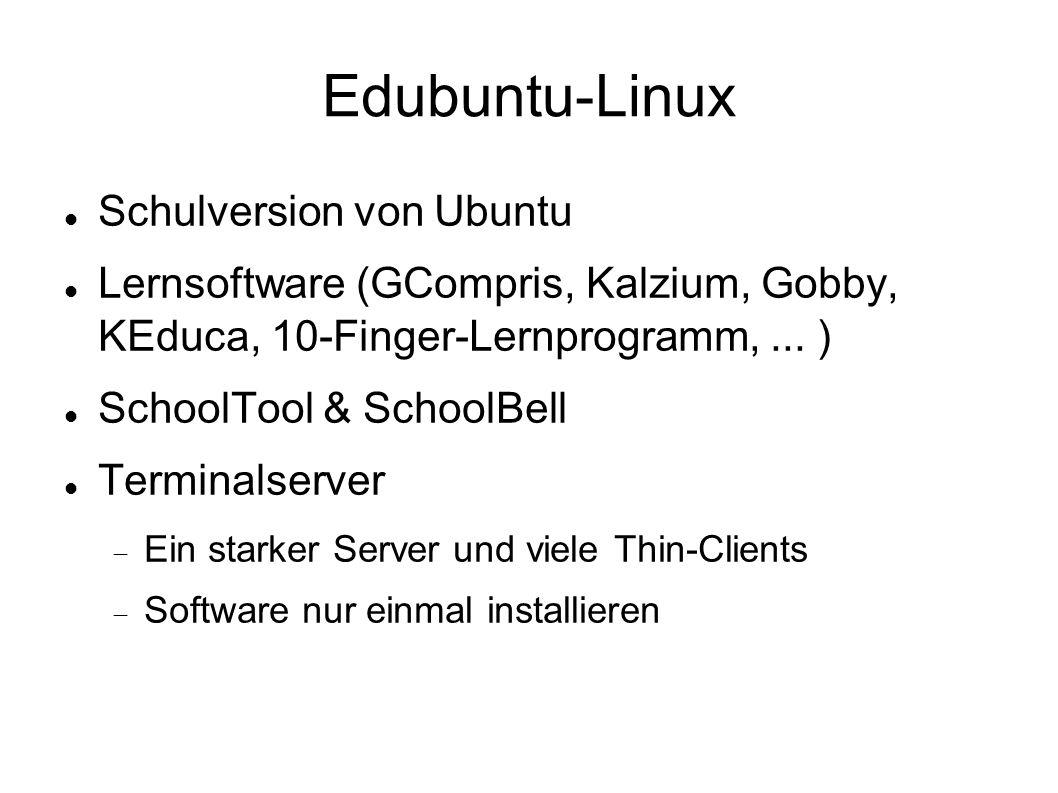 Edubuntu-Linux Schulversion von Ubuntu