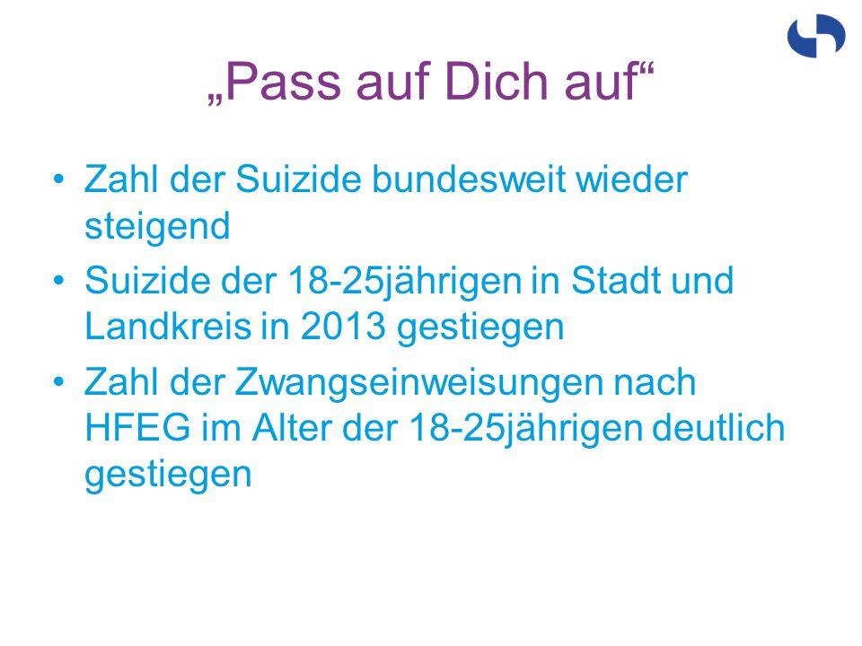 """""""Pass auf Dich auf Zahl der Suizide bundesweit wieder steigend"""