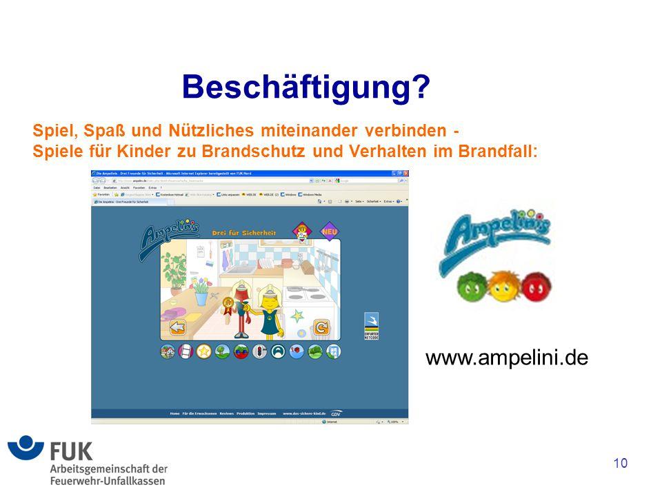 Beschäftigung www.ampelini.de