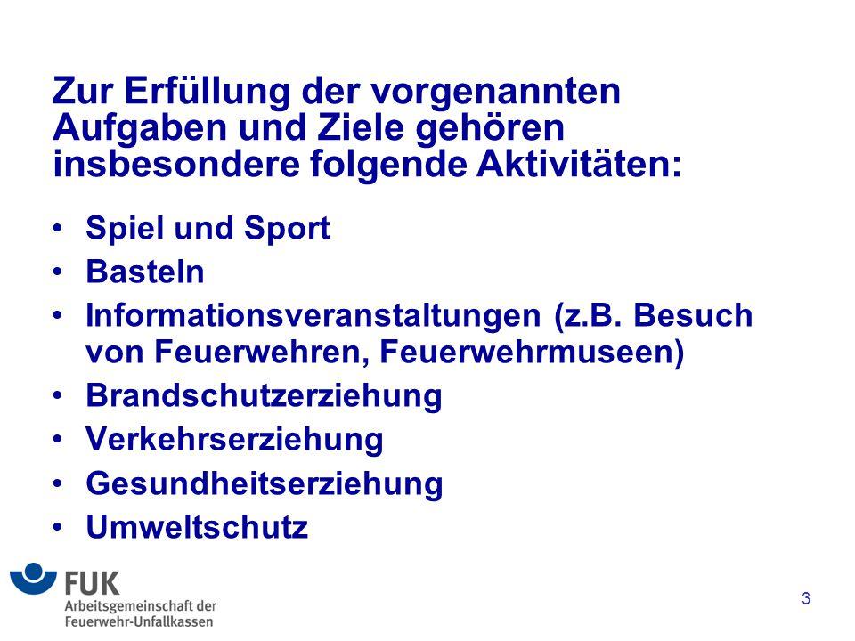 Zur Erfüllung der vorgenannten Aufgaben und Ziele gehören insbesondere folgende Aktivitäten: