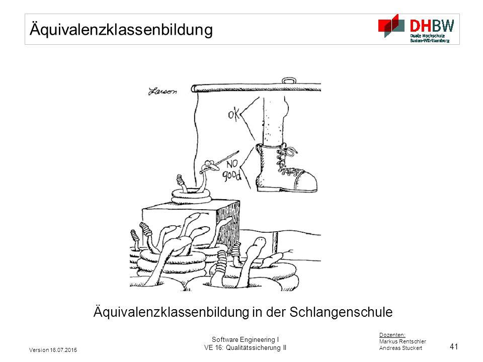 Äquivalenzklassenbildung